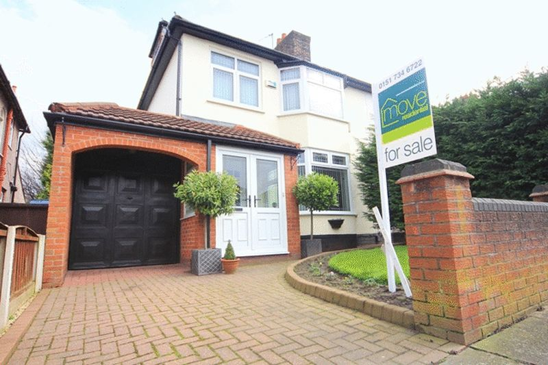 4 Bedrooms Semi Detached House for sale in Rudston Road, Childwall, Liverpool, L16