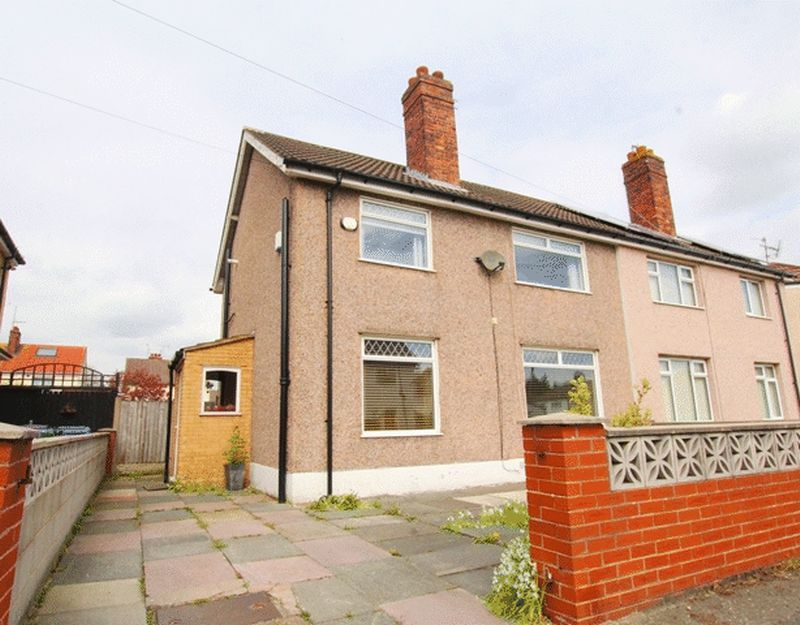3 Bedrooms Semi Detached House for sale in Dinesen Road, West Allerton, Liverpool, L19