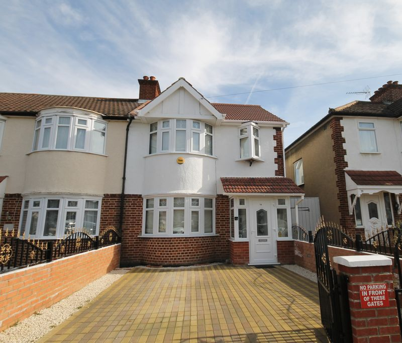 4 Bedrooms Terraced House for sale in Rosedene Avenue, Greenford