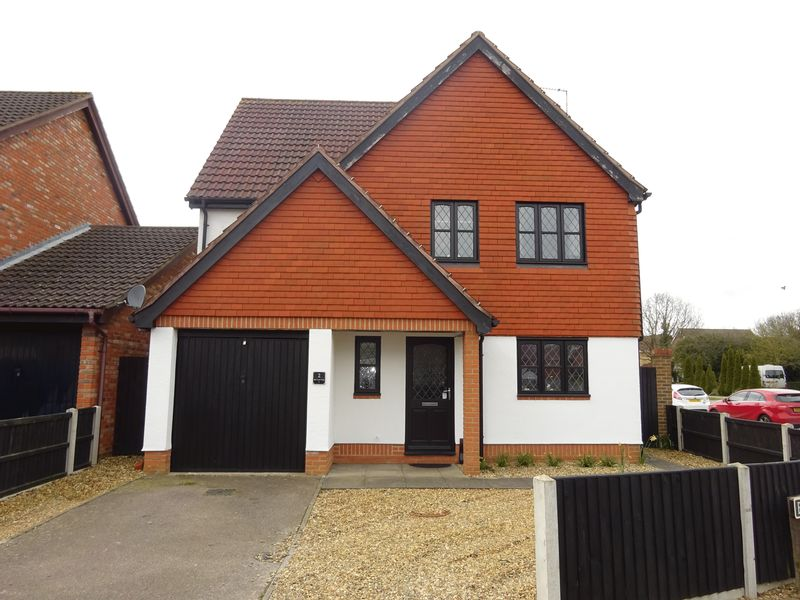 4 Bedrooms Detached House for sale in Bill Todd Way, Norwich