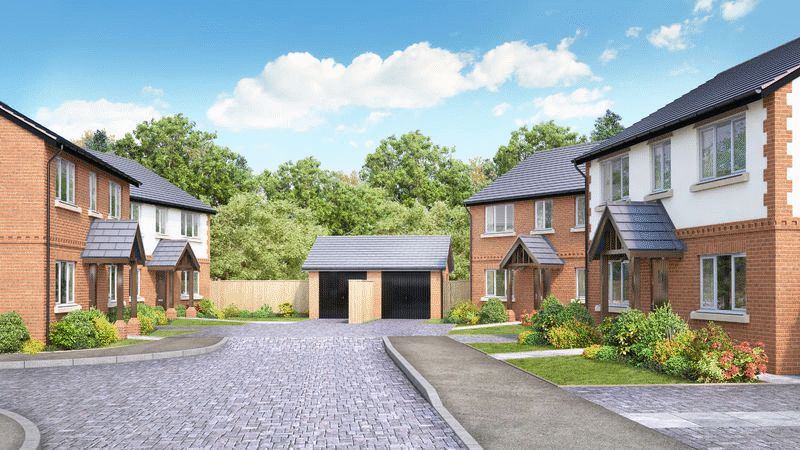 4 Bedrooms Detached House for sale in Plots 4-6, Heathview Court, Old Chester Road, Nr Malpas