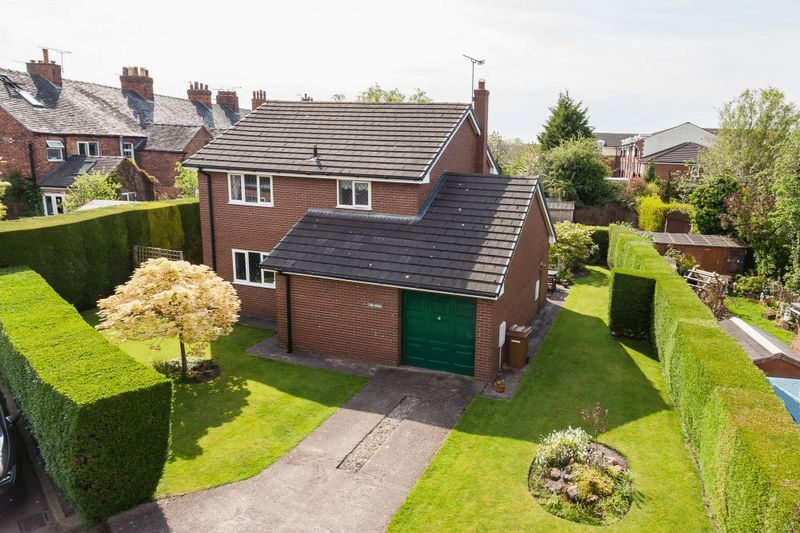 3 Bedrooms Detached House for sale in The Nook, Wallfields Road, Nantwich