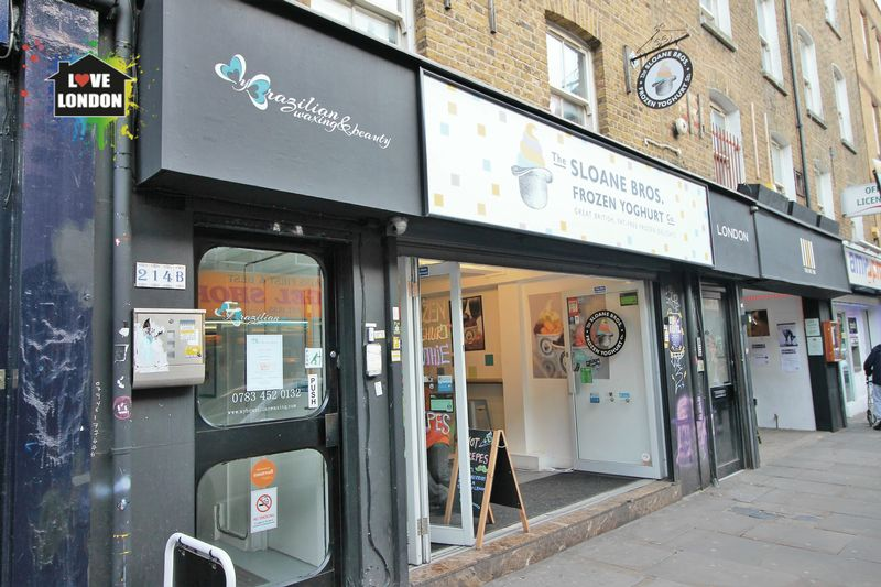 Flat for sale in Sloan Brothers Yogurt shop and Beauty Salon, Brick lane, London, E1