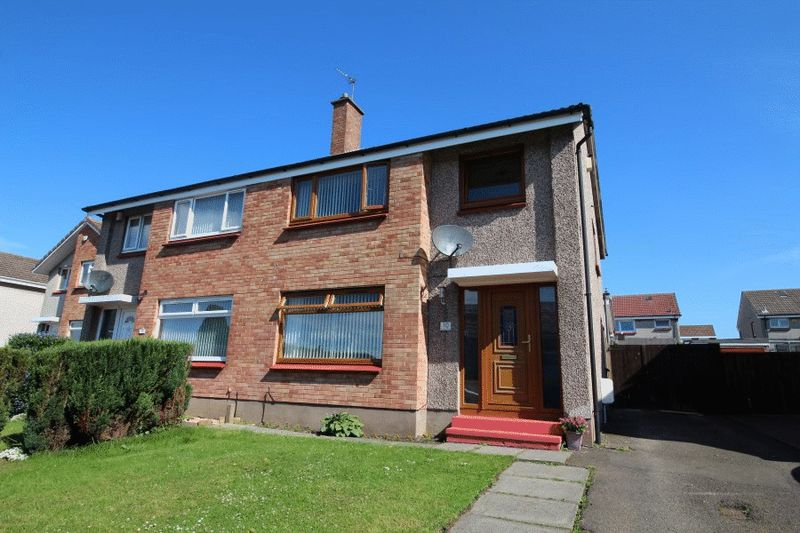 3 Bedrooms Semi Detached House for sale in Downfield Place, Kirkcaldy