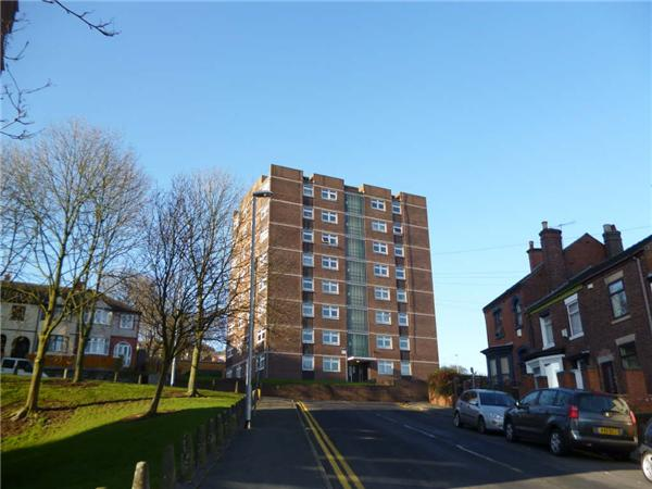 1 Bedroom Flat for sale in Honeywall House Penkhull Stoke-on-trent Staffordshire