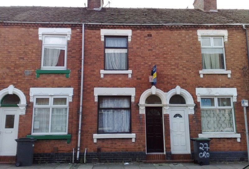 2 Bedrooms Terraced House for sale in Crowther Street, Shelton, Stoke-On-Trent