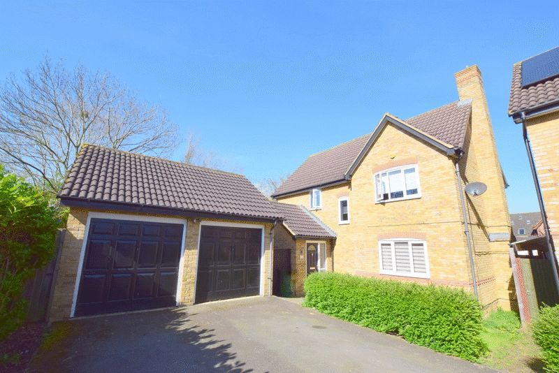 4 Bedrooms Detached House for sale in Islingbrook, Shenley Brook End, Milton Keynes