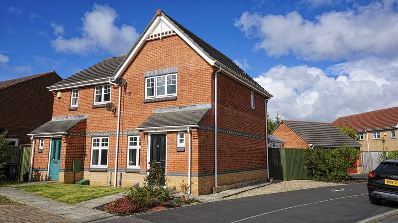2 Bedrooms Semi Detached House for sale in WEST FARM WYND, Longbenton