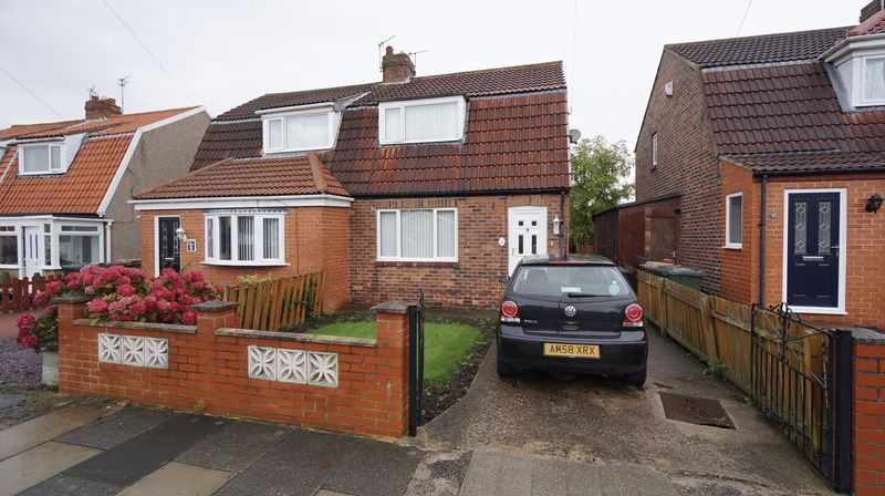 2 Bedrooms Semi Detached House for sale in CRESCENT WAY, Forest Hall