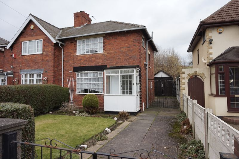 3 Bedrooms Semi Detached House for sale in Alumwell Road, Walsall
