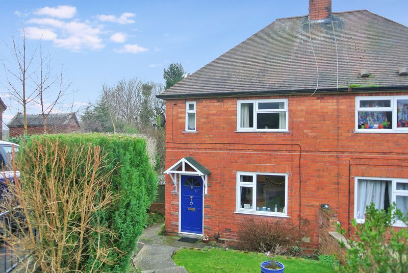 2 Bedrooms Semi Detached House for sale in Wrekin View, Madeley, Telford, Shropshire.