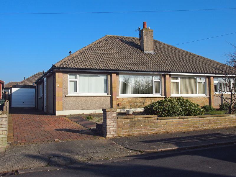 2 Bedrooms Semi Detached Bungalow for sale in Homewood Avenue, Bare,Morecambe
