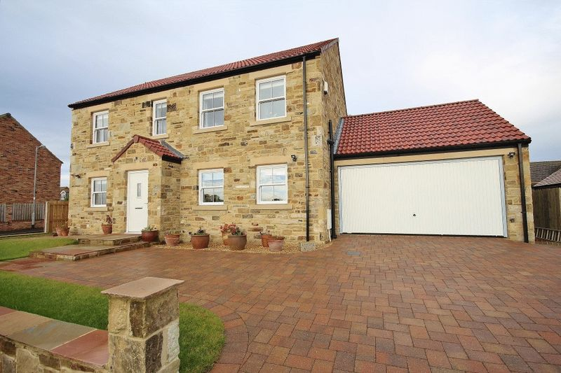 4 Bedrooms Detached House for sale in Darling House, Christon Bank, Alnwick
