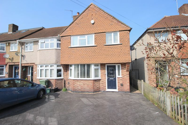 3 Bedrooms Terraced House for sale in Norfolk Crescent, Sidcup, DA15 8HN