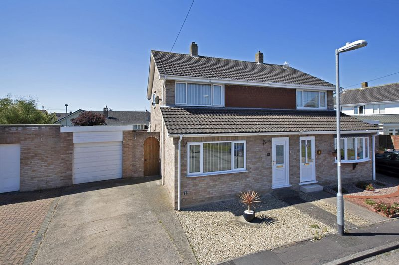 3 Bedrooms Semi Detached House for sale in Cormorant Close, Bridge Estate, Bridgwater
