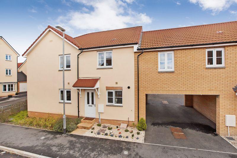 2 Bedrooms Terraced House for sale in Romney Road, Stockmoor, Bridgwater