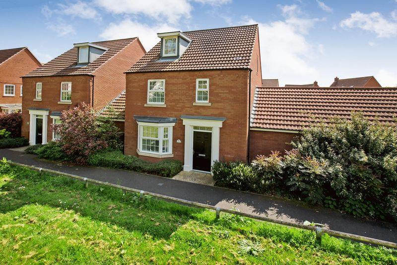 4 Bedrooms Detached House for sale in Foxglove Walk, Wilstock Village, Bridgwater