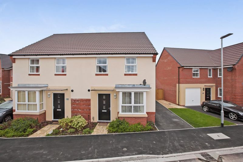 3 Bedrooms Semi Detached House for sale in Royal Drive, Kings Down, Bridgwater