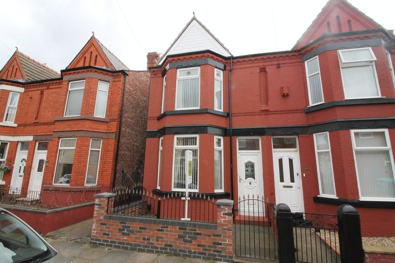 3 Bedrooms Semi Detached House for sale in St Georges Avenue, Tranmere
