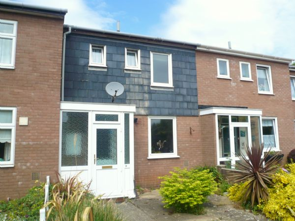 3 Bedrooms Terraced House for sale in Countess Wear, Exeter