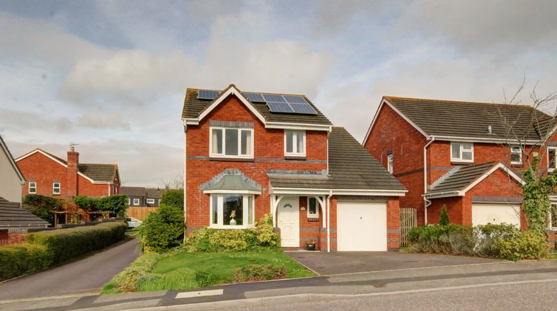 4 Bedrooms Detached House for sale in Grecian Way, Exeter