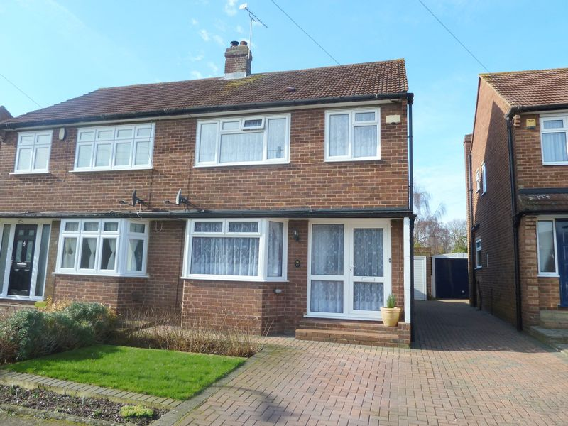 3 Bedrooms Semi Detached House for sale in Dale Road, Swanley