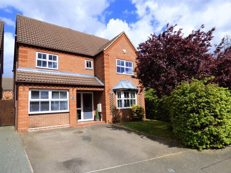4 Bedrooms Detached House for sale in Hocknell Close, Northampton