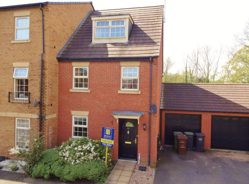 3 Bedrooms Terraced House for sale in Outfield Close, Great Oakley, Corby