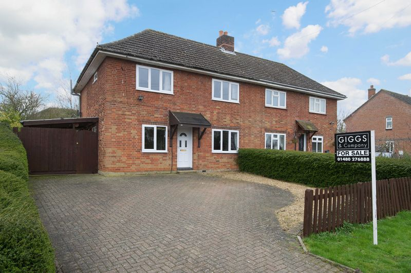 3 Bedrooms Semi Detached House for sale in St Neots Road, St. Neots