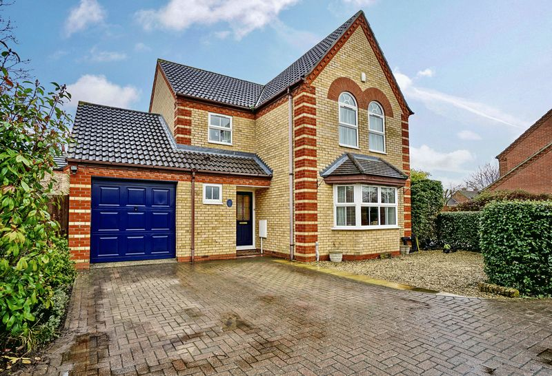 4 Bedrooms Detached House for sale in Orchard Close, Eaton Ford