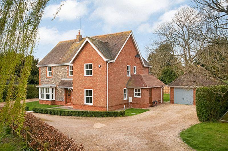 5 Bedrooms Detached House for sale in King's Somborne