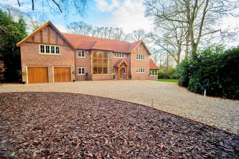 6 Bedrooms Detached House for sale in Straight Mile, Ampfield