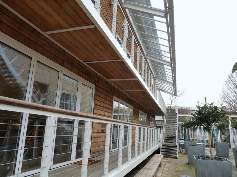 Ground floor suites & balconies