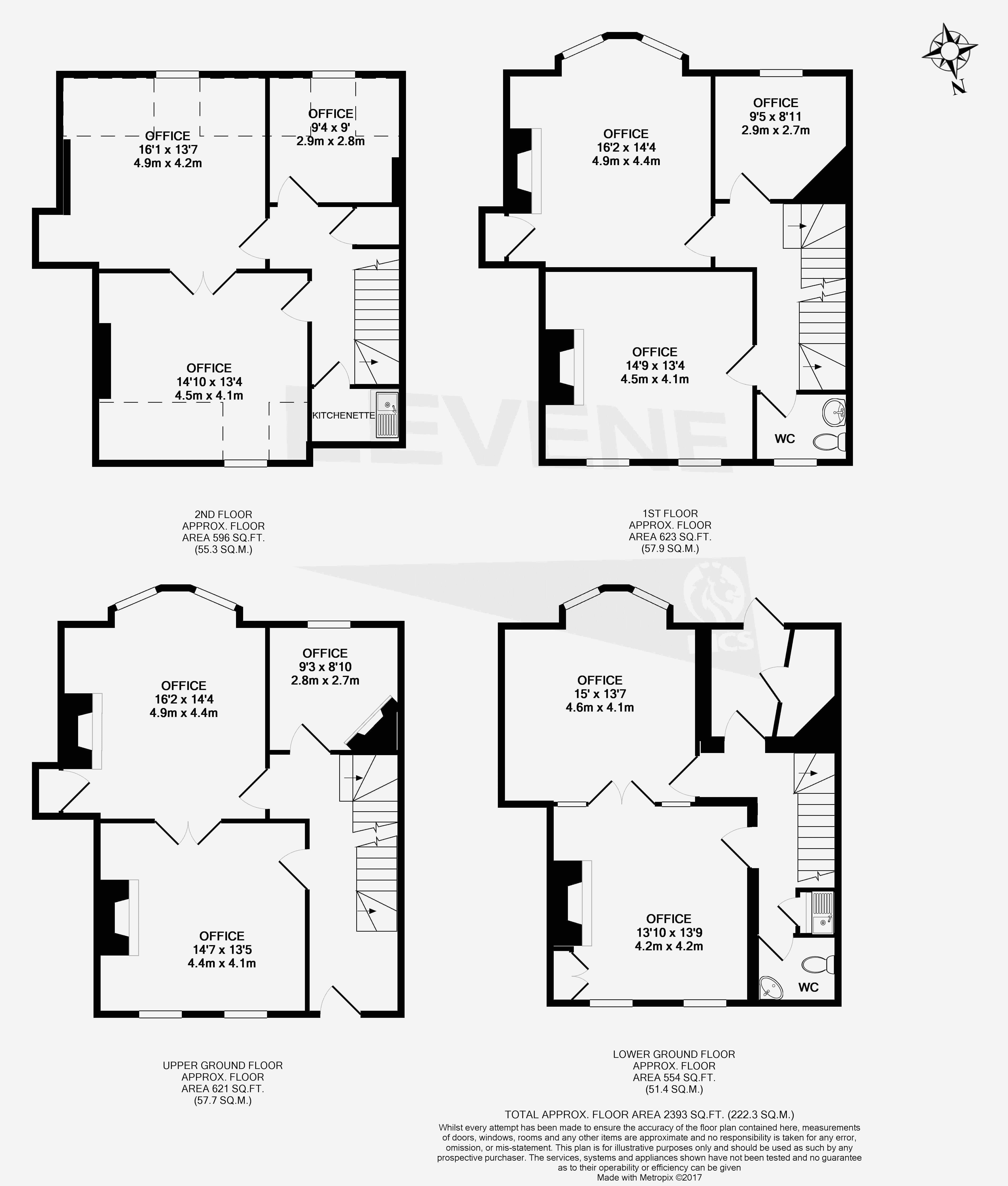 Queen Anne House Gross Floorplan