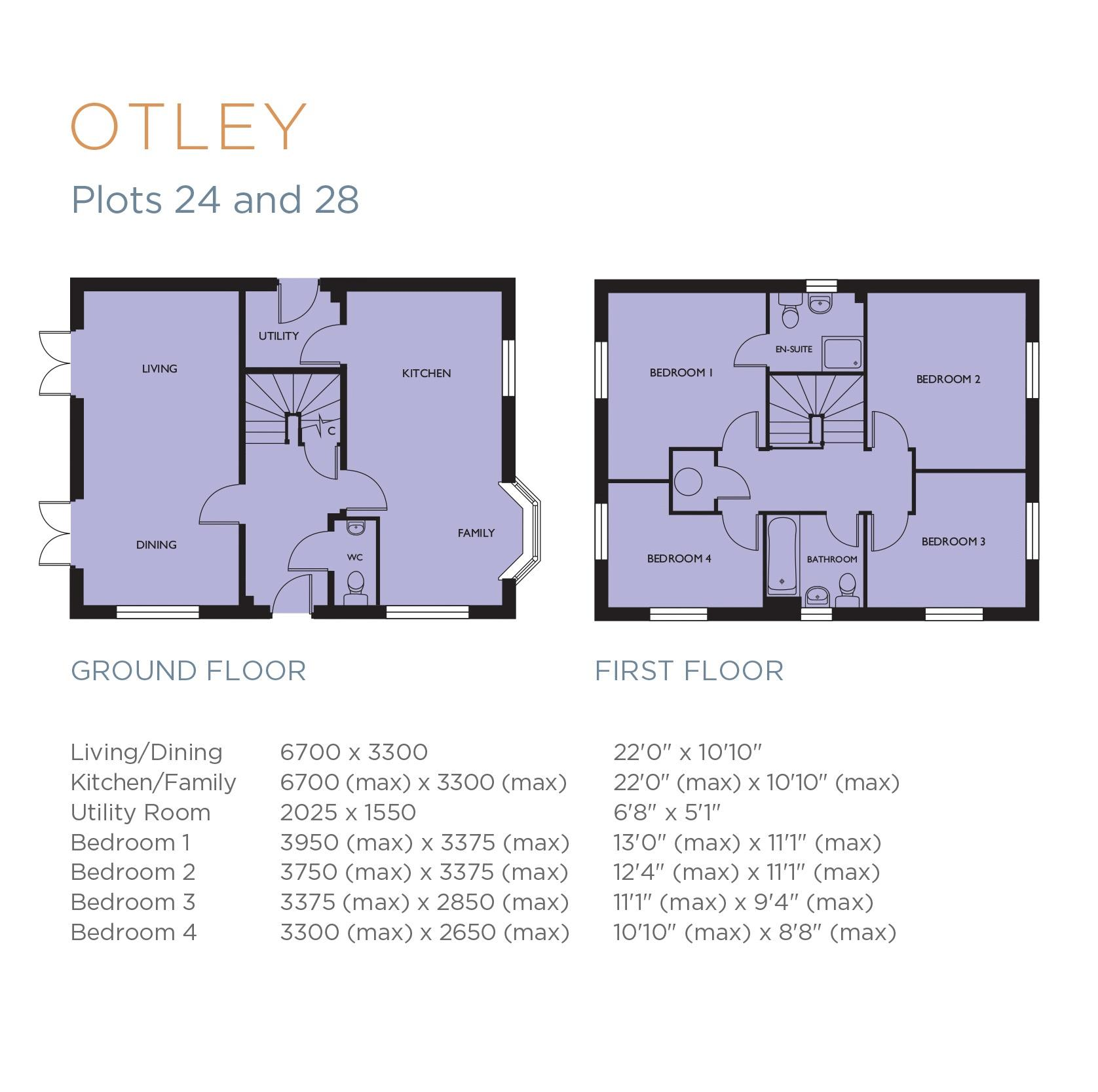 Otley Floorplan