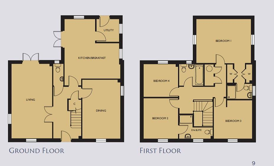 Kingham Floorplan