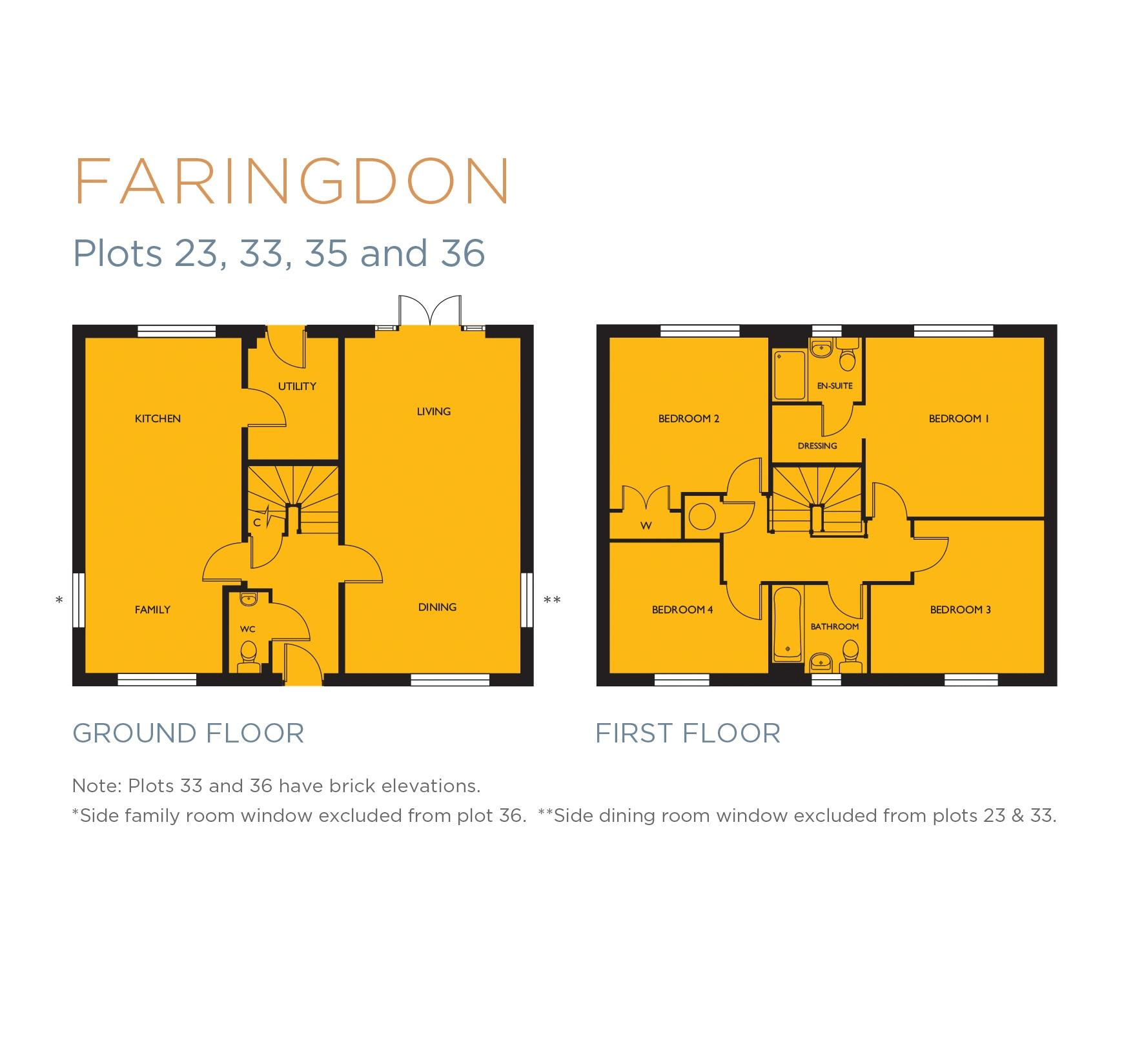 Faringdon Floorplan