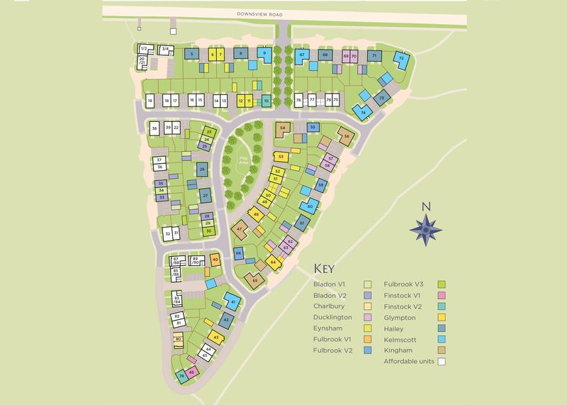 Plot 71, The Hailey Downsview Park