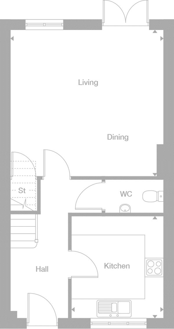 Plot 15, The Pushkin - Walnut Meadow Drayton