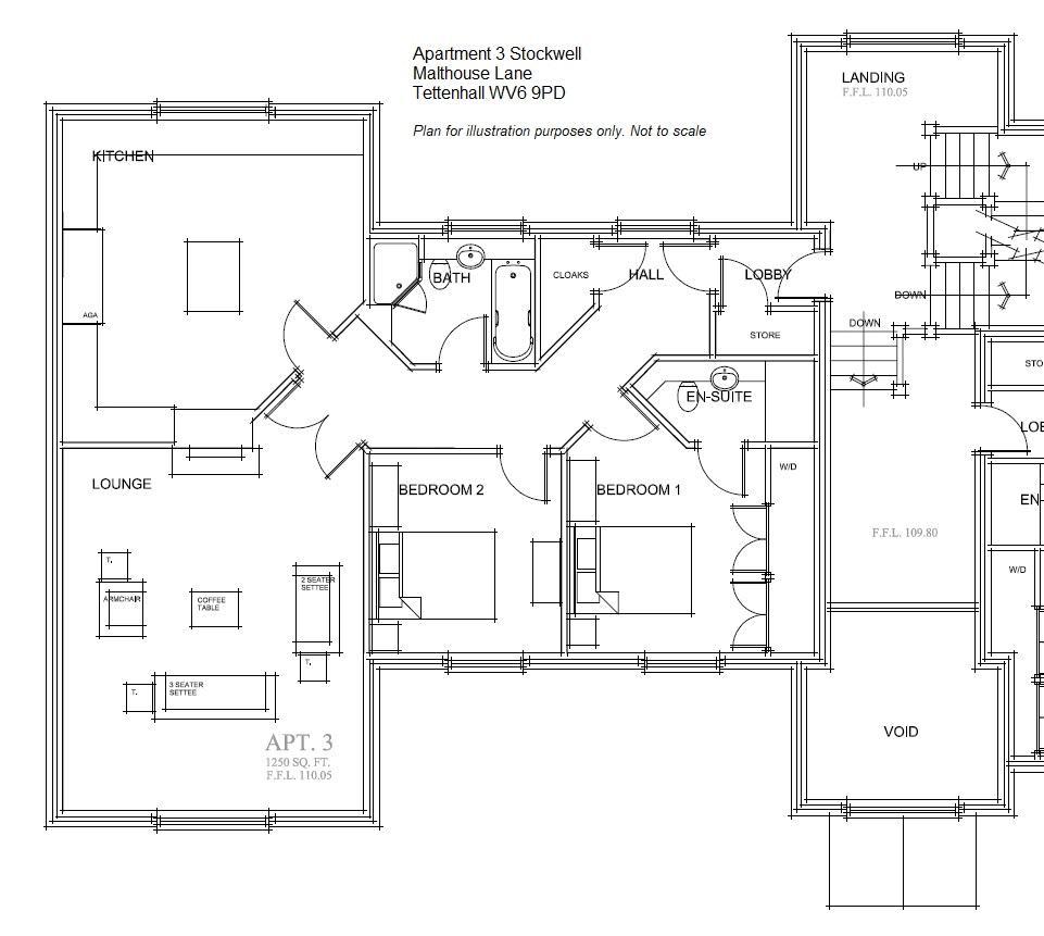 Floor Plan - Apartment 3