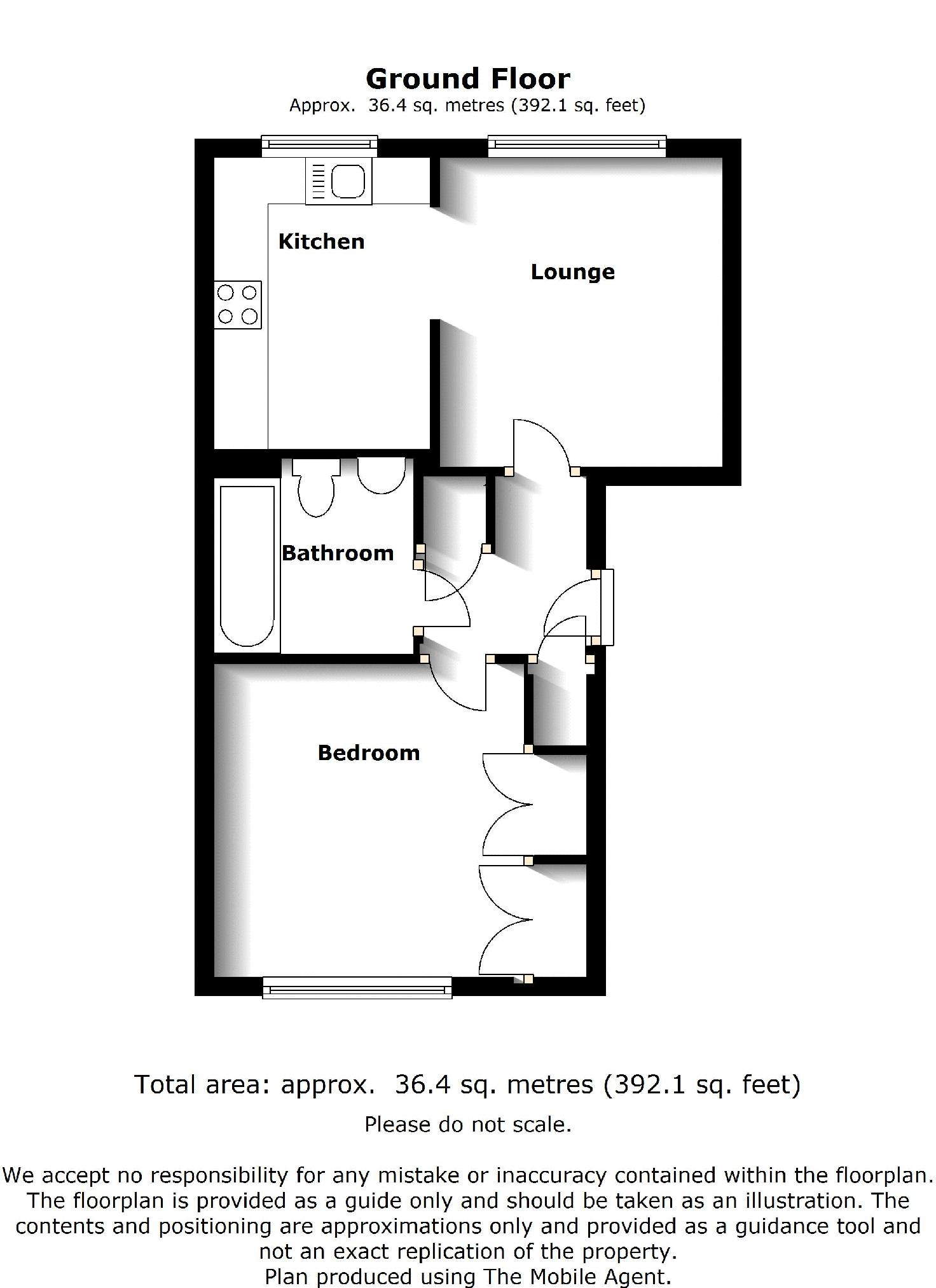 122a Common Road - Floor Plan