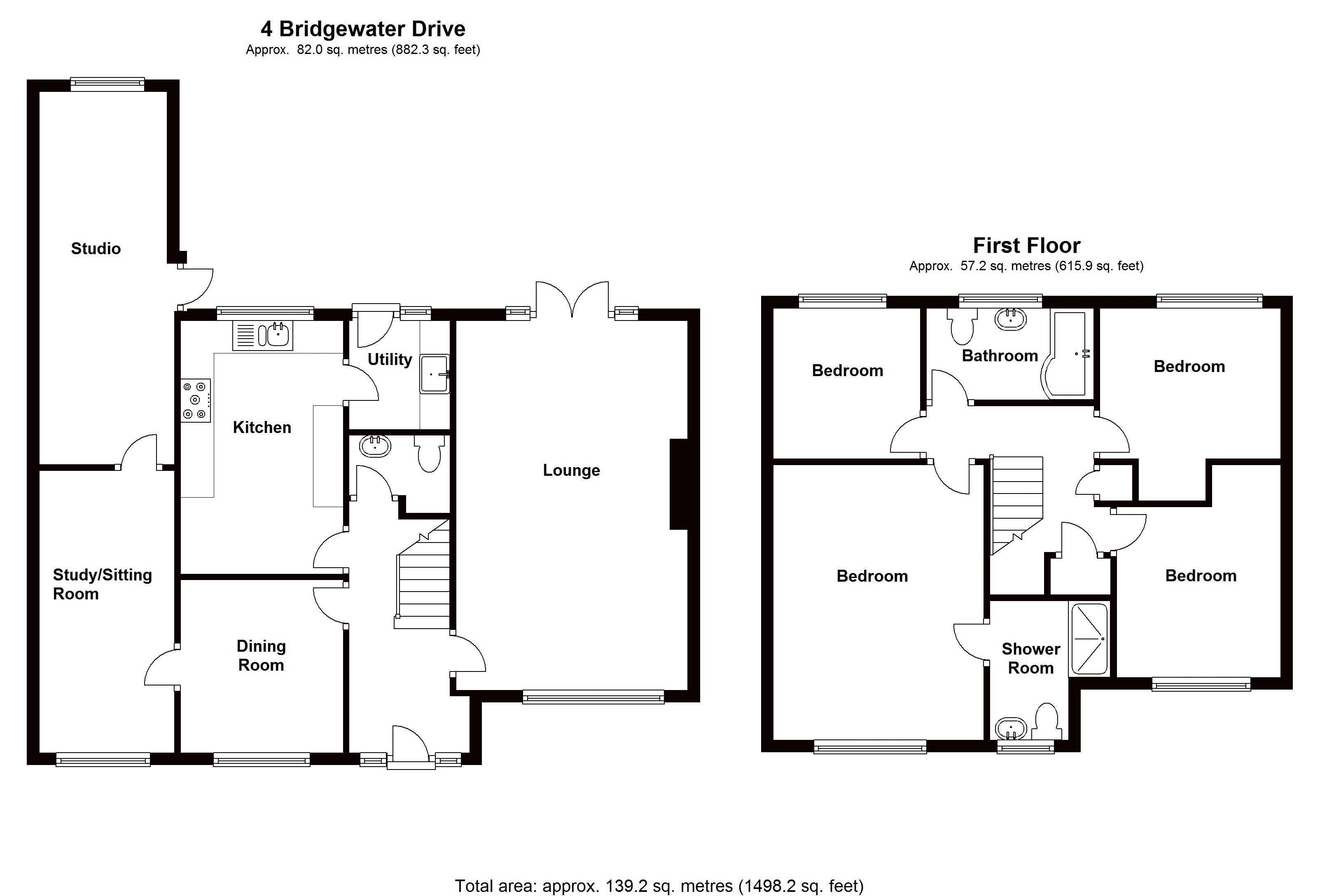 4 Bridgewater Drive - Floor Plan
