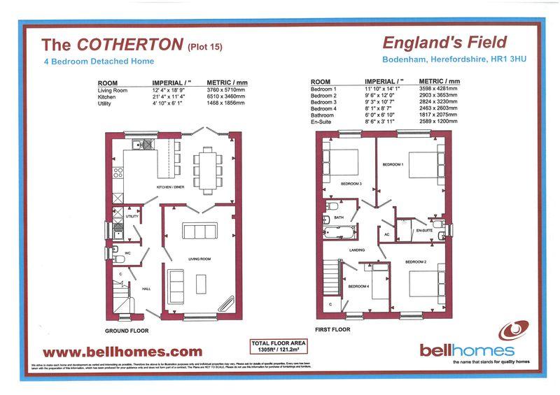 Plot 15 - The Cotherton,  England 's Field Bodenham