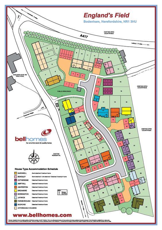 Plot 26 England 's Field Bodenham