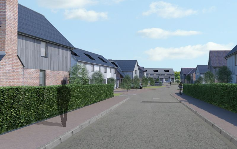 Pyefinch Development Burghill