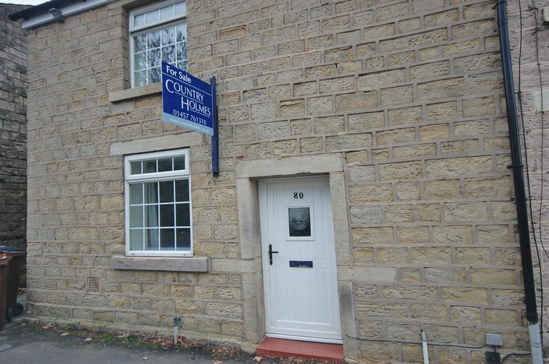 2 Bedrooms Property for sale in Woolley Bridge Hadfield, Glossop