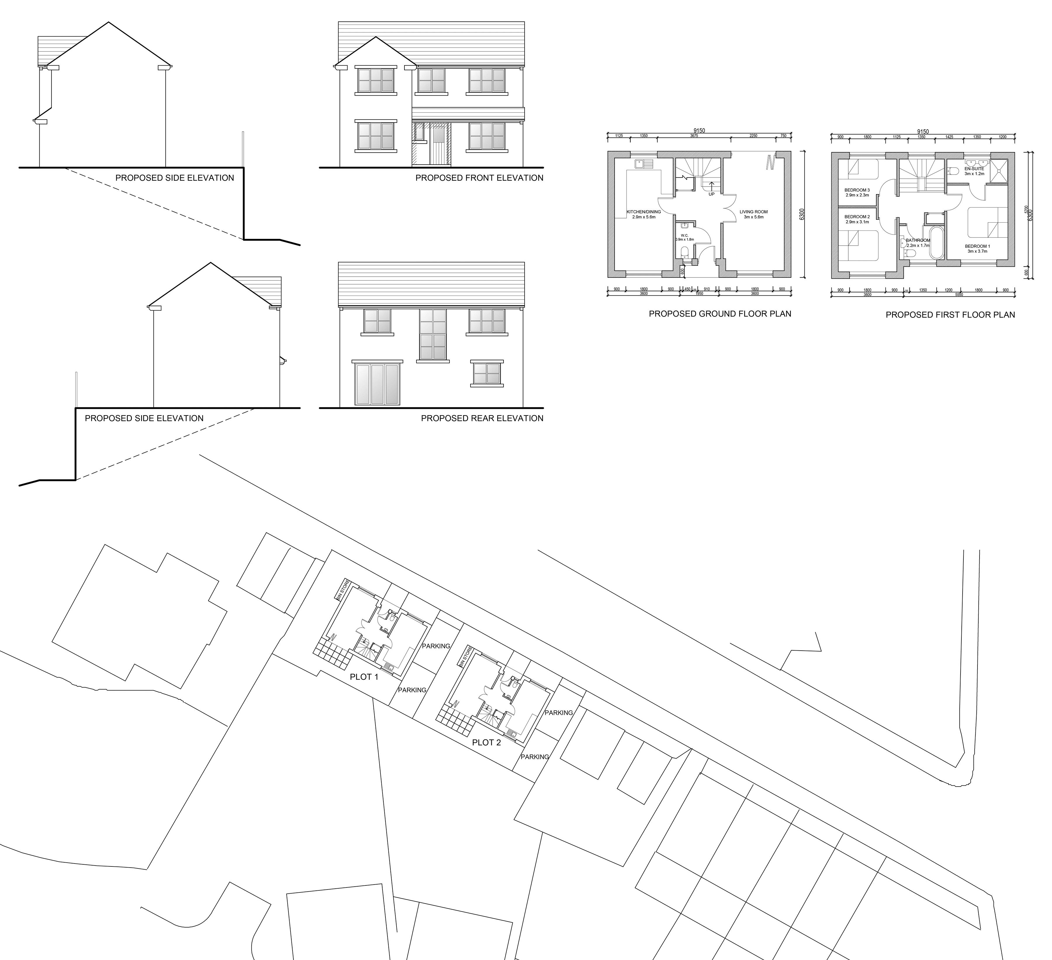 Site Plan & Elevations