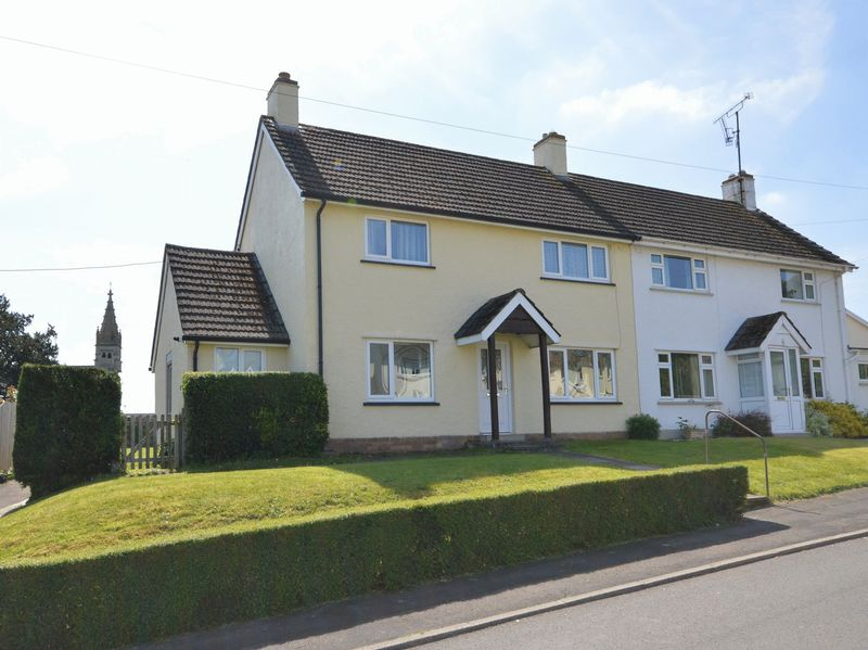 3 Bedrooms Property for sale in St Helens Crescent Llanellen, Abergavenny