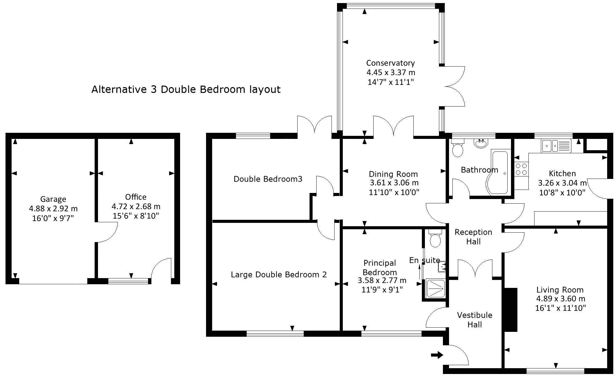 Optional layout