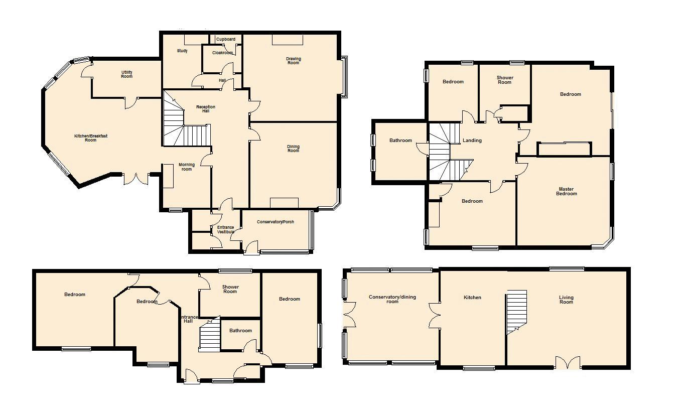 Floor Plan-Not to scale